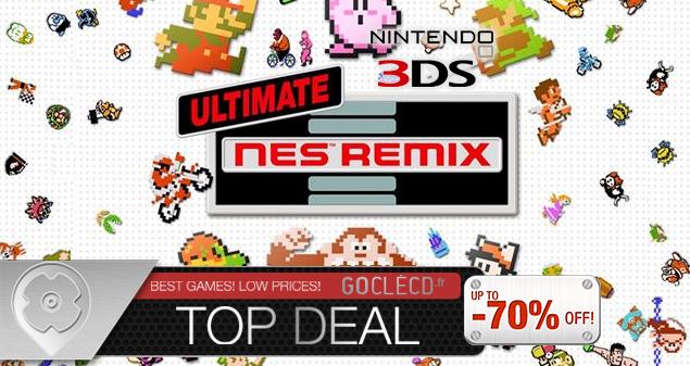 Ultimate NES Remix est disponible à partir de 39.49€