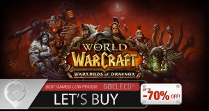 World of Warcraft Warlords of Draenor clé cd meilleur prix