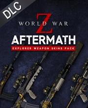 World War Z Explorer Weapon Skin Pack
