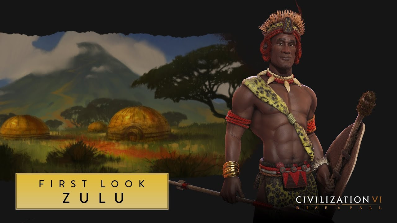 Civilization 6 Rise and Fall tribu Zoulous