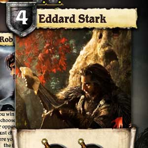 A Game of Thrones The Board Game Cartes
