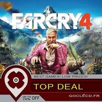 Far Cry 4 : on reprend le 3 et on fait la même