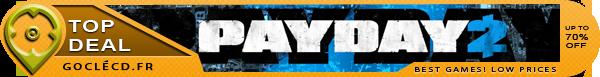 acheter Payday 2 au meilleur prix