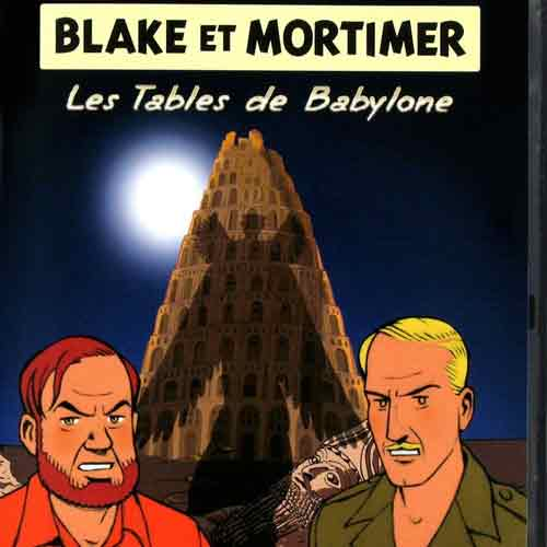 Acheter Blake et Mortimer Les Tables de Babylone clé CD Comparateur Prix