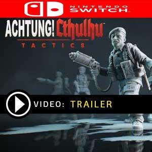 Achtung Cthulhu Tactics Nintendo Switch en boîte ou à télécharger