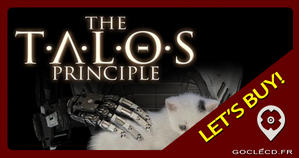 activer une cle The talos Principle sur steam