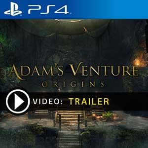 Adams Venture Origins PS4 en boîte ou à télécharger