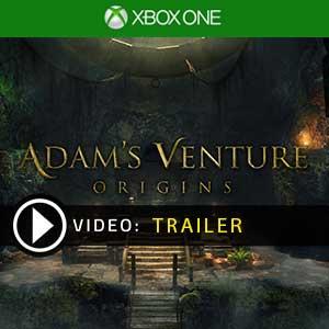 Adams Venture Origins Xbox One en boîte ou à télécharger