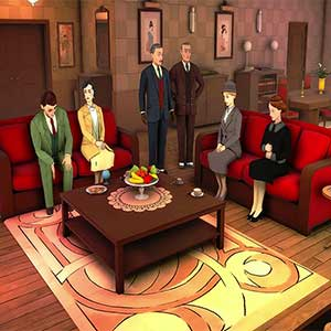 Agatha Christie The ABC Murders PS4 Gameplay