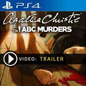 Agatha Christie The ABC Murders PS4 en boîte ou à télécharger