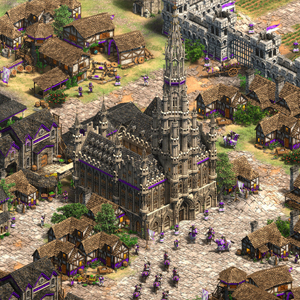 Age of Empires 2 Definitive Edition Lords of the West Centre-ville