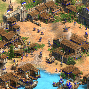 Age of Empires 2 Definitive Edition Lords of the West Docks