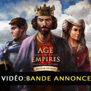 Age of Empires 2 Definitive Edition Lords of the West Vidéo de la bande annonce