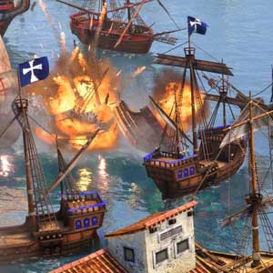 Age of Empires 3 Definitive Edition Bataille navale