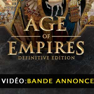 Vidéo de la bande annonce Age of Empires 3 Definitive Edition