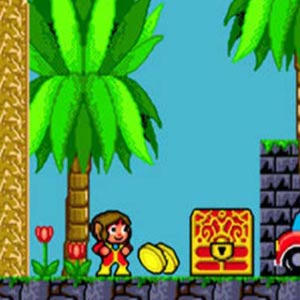 Alex Kidd in the Enchanted Castle Paperock