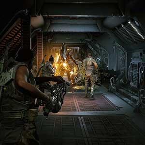Aliens Fireteam Elite L56A3 Smartgun