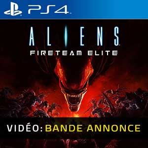 Aliens Fireteam Elite PS4 Bande-annonce Vidéo