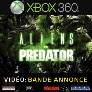 Aliens VS Predator Xbox 360 Bande-annonce Vidéo