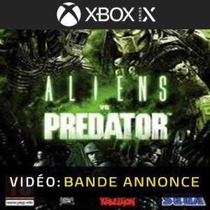 Aliens VS Predator Xbox Series X Bande-annonce Vidéo