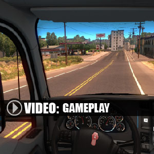 American Truck Simulator New Mexico Gameplay Video