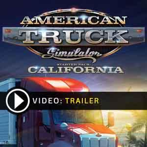 Acheter American Truck Simulator Starter Pack California Clé Cd Comparateur Prix