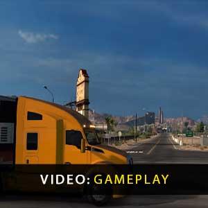 American Truck Simulator Gameplay Vidéo