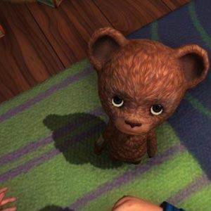 Among The Sleep Mal Teddy Bear