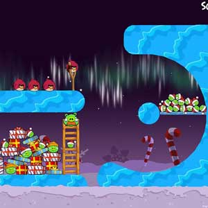 Angry Birds Seasons Hiver Wonderham