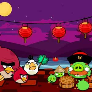 Angry Birds Seasons Festival mooncake