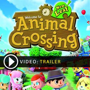 Animal Crossing New Leaf Nintendo 3DS en boîte ou à télécharger
