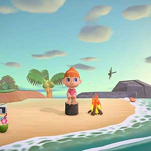 Animal Crossing New Horizons Nintendo Switch Plage