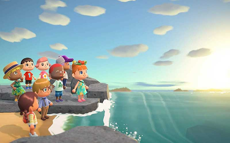 Animal Crossing New Horizons Nintendo Switch Plage 2