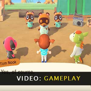 Animal Crossing New Horizons Nintendo Switch vidéo de gameplay