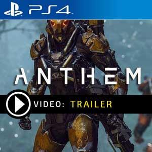 Anthem PS4 en boîte ou à télécharger