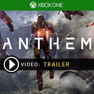 Anthem Xbox One en boîte ou à télécharger