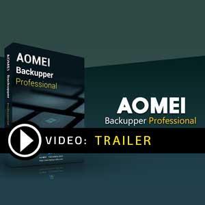 Acheter AOMEI Backupper Professional Clé CD au meilleur prix