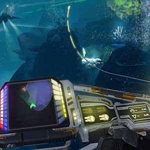 Vue de cockpit dans la bataille