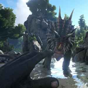 ARK Survival Evolved Dinosaur Ride