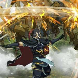 Arslan The Warriors of Legend Lutte