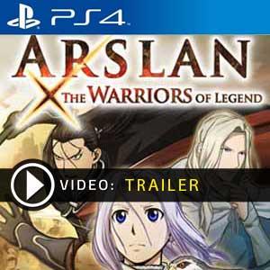 Arslan The Warriors of Legend PS4 en boîte ou à télécharger