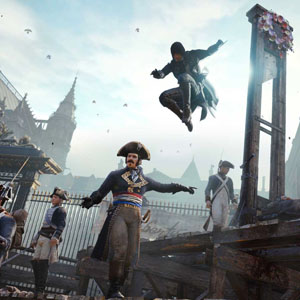 Assassins Creed Unity Xbox One Aerial Assault
