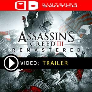 Assassin's Creed 3 Remastered Nintendo Switch en boîte ou à télécharger