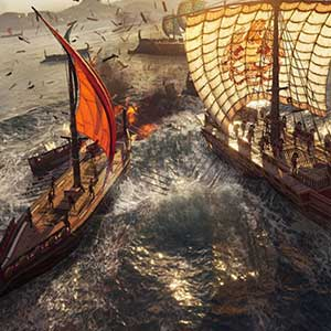 Naviguez à travers la mer Égée