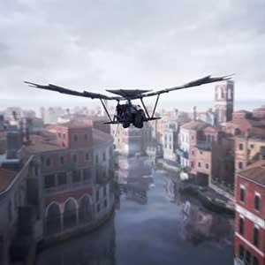 Assassin's Creed The Ezio Collection Machine volante