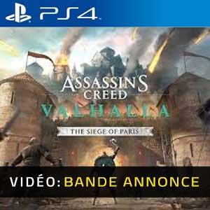 Assassin's Creed Valhalla The Siege of Paris PS4 Bande-annonce Vidéo