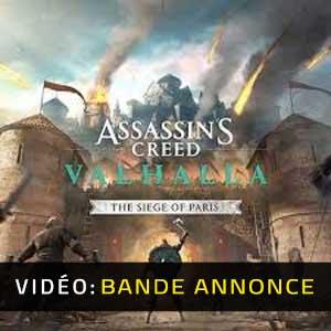 Assassin's Creed Valhalla The Siege of Paris Bande-annonce Vidéo