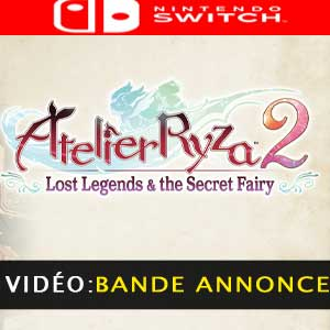 Atelier Ryza 2 Lost Legends & The Secret Fairy vidéo de la bande-annonce