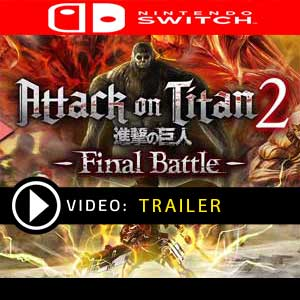 Attack on Titan 2 Final Battle Nintendo Switch en boîte ou à télécharger