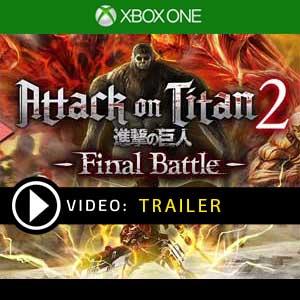 Attack on Titan 2 Final Battle Xbox One en boîte ou à télécharger